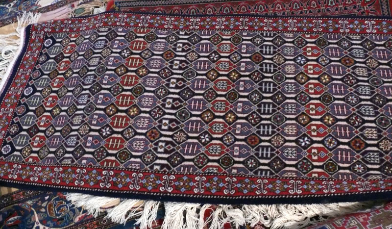 Authentic rug from Quba