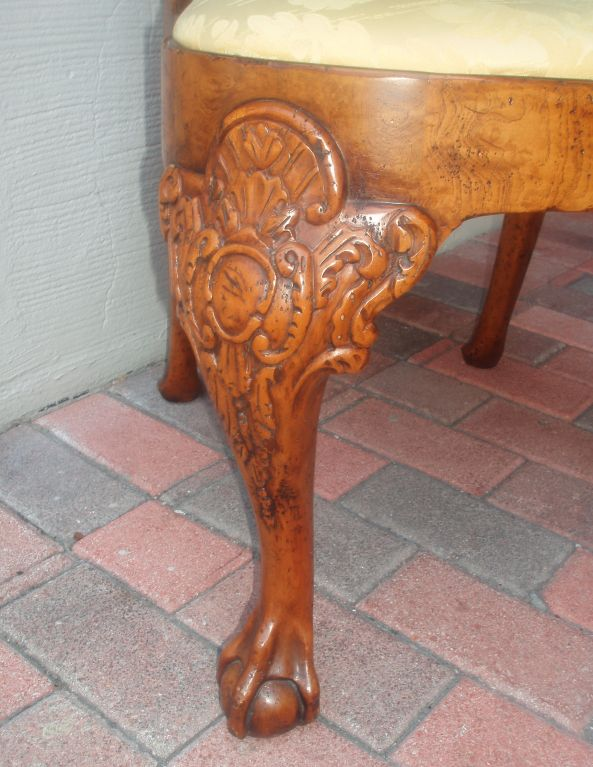 Queen Anne Style Side Chair Fragment, William R.Eubanks