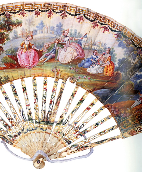 Fan from Catherine Palace collection