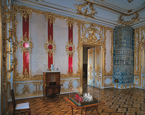 Russian Palace Walls Paintings