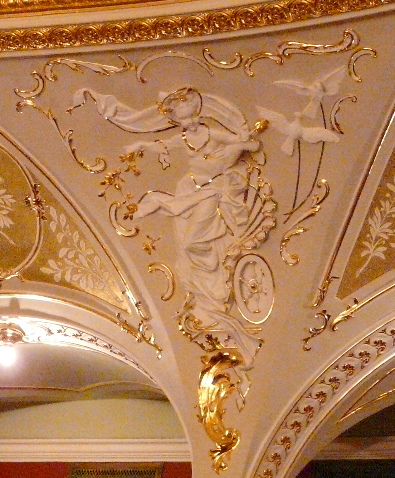 Odessa Opera and Ballet Theater, fragment of decoration