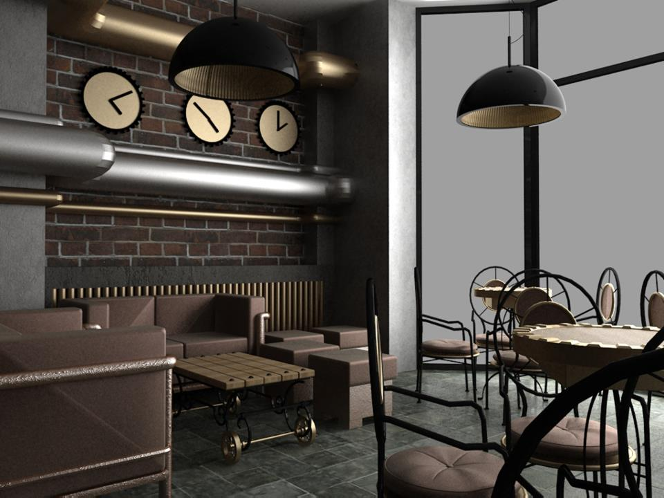 Steampunk style in interior design l 39 essenziale Steampunk interior
