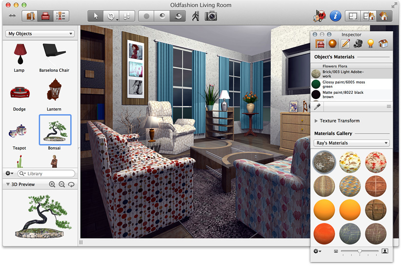 Top cad software for interior designers review for Interior decorating software free