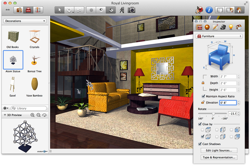 Top cad software for interior designers review 3d room design software free