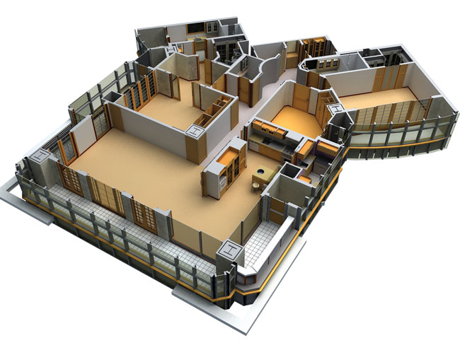 3d Model In Archicad Image Source