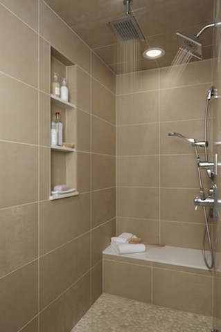 Shower for Best bathroom designs india