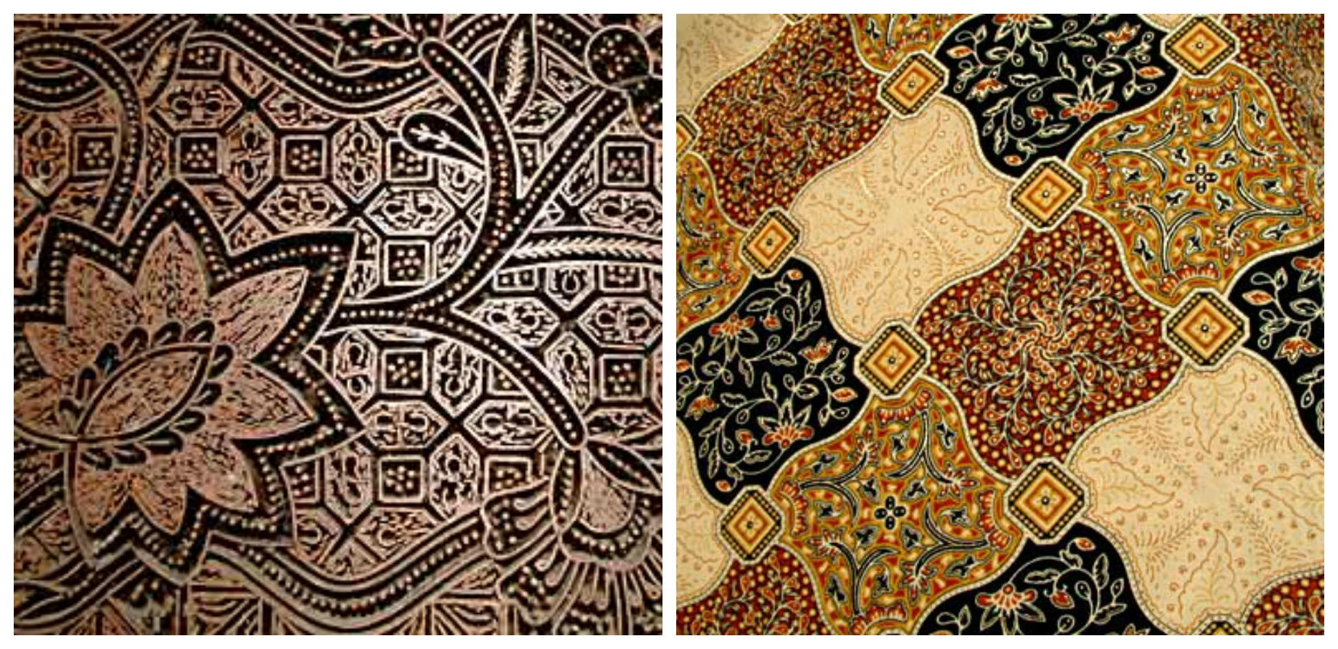 Indonesian Batik Image Source