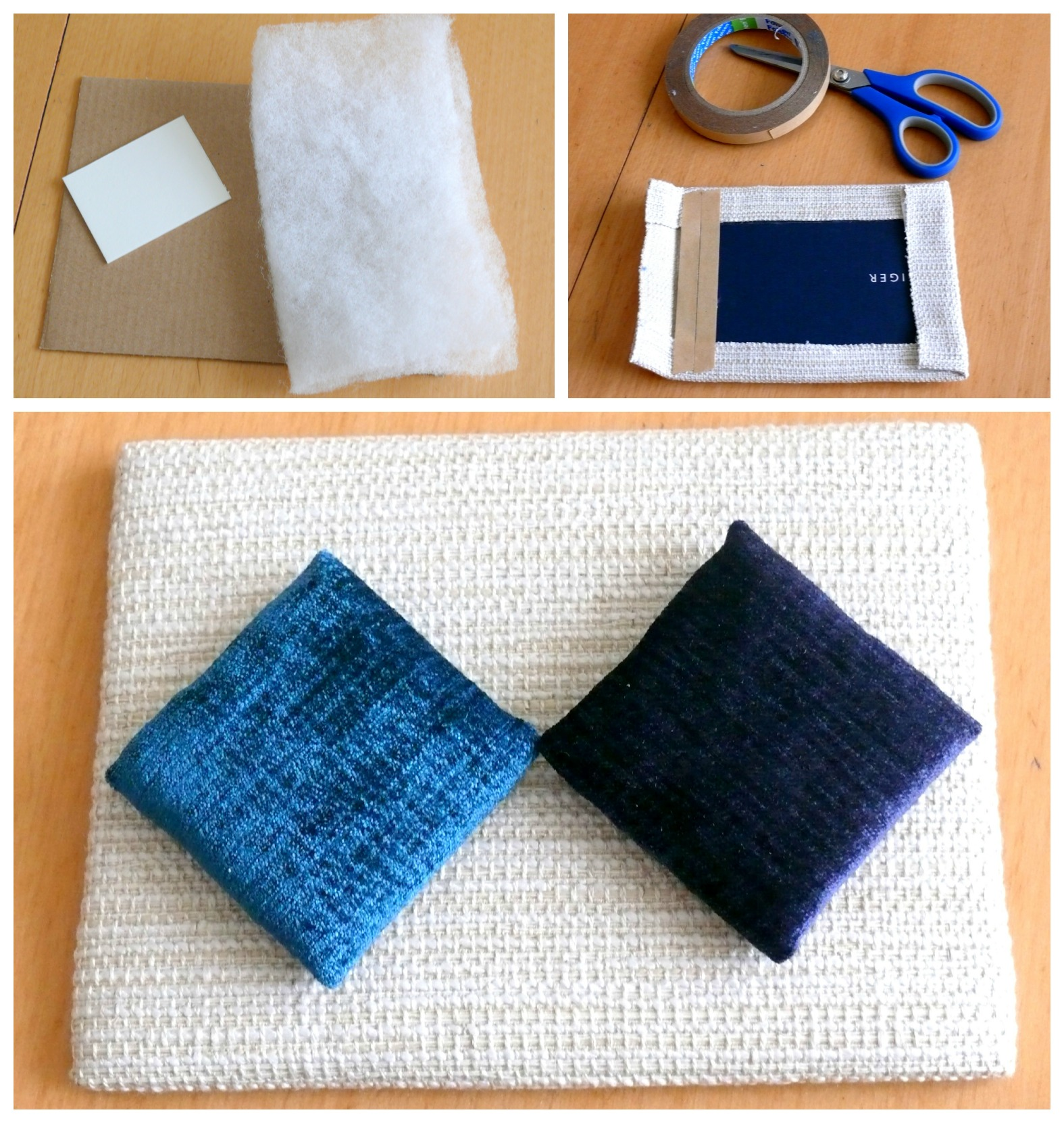 How to create a sample board for interior design project for Fabric for interior design