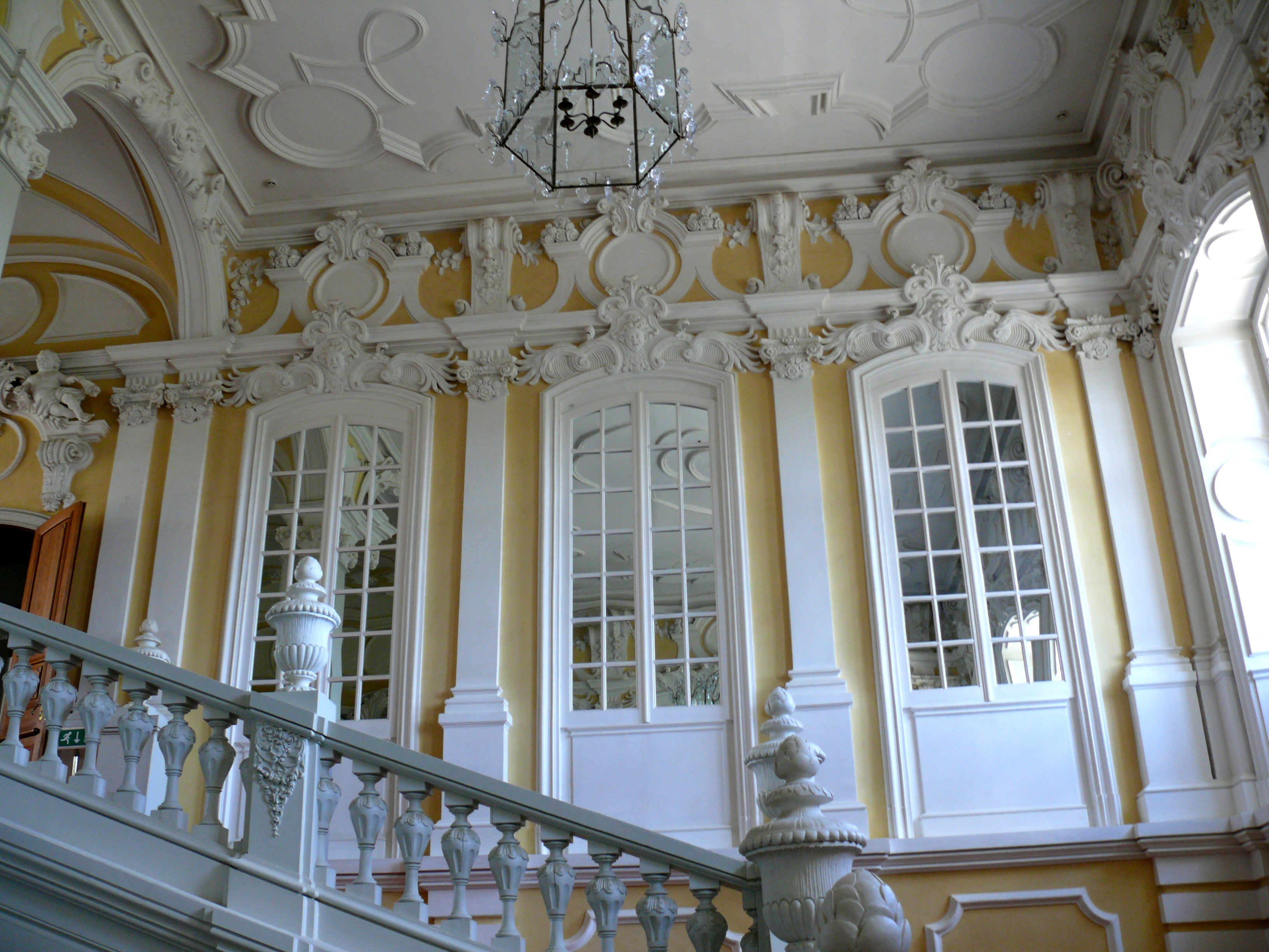 Rundale palace staircase l 39 essenziale interior design for Define baroque art