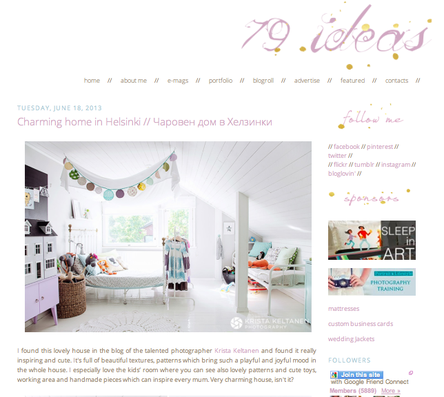 10 Great Interior Design Blogs you shouldn't miss