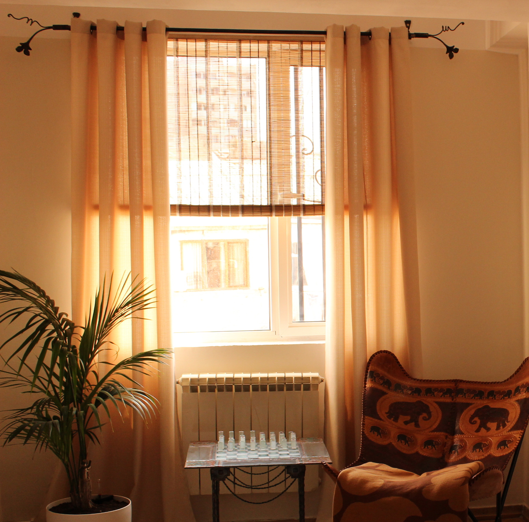 Types of curtains styles - Eyelets