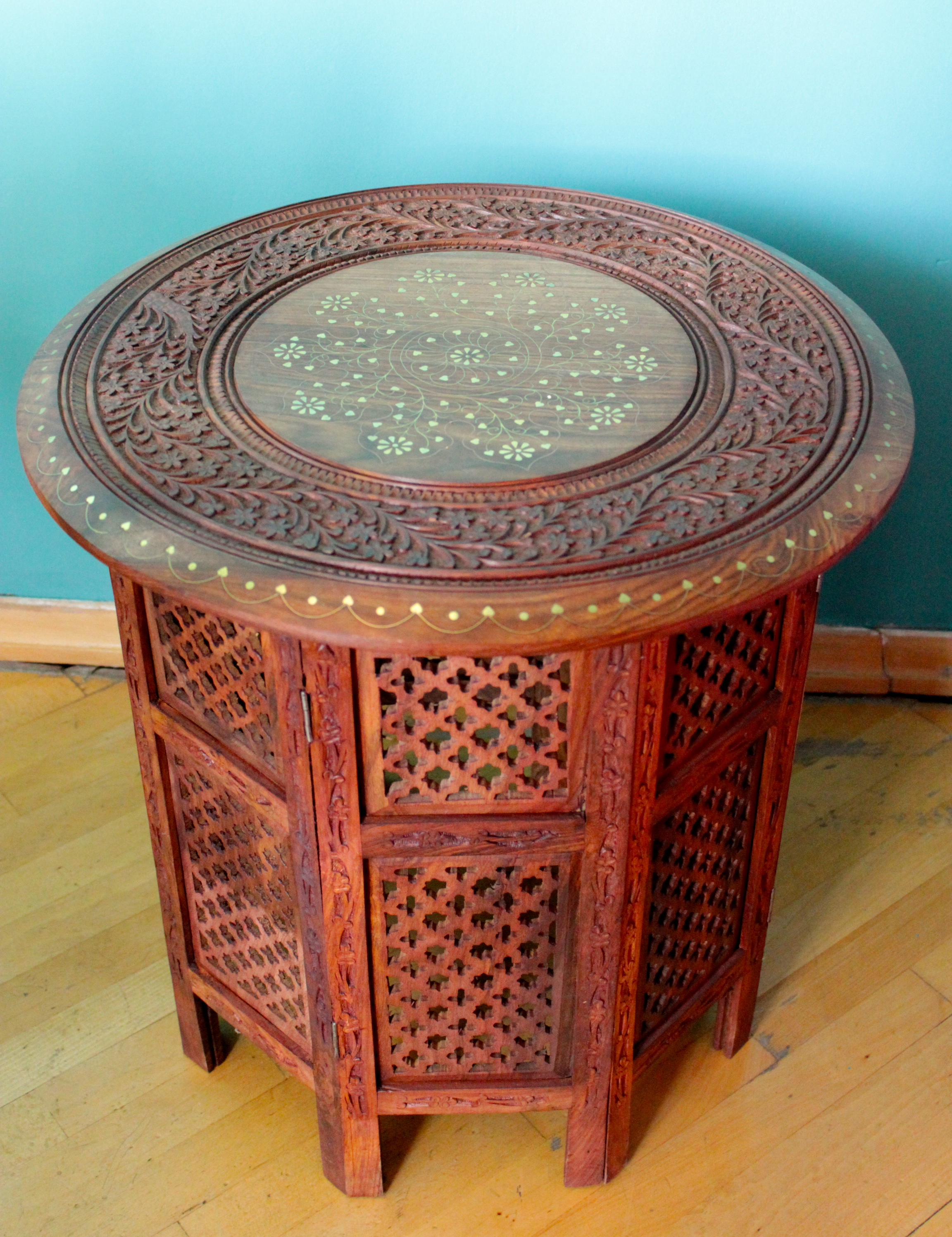 indian arabesque table