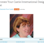 Anna At Decorate Your Castle Talkshow – Interview With Linda Hunt