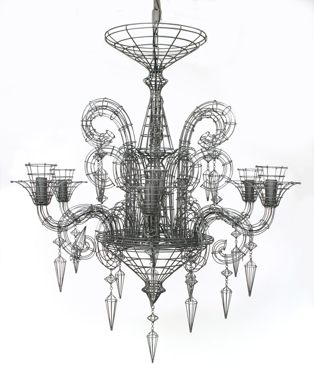 Biju Grand French Wire Chandelier