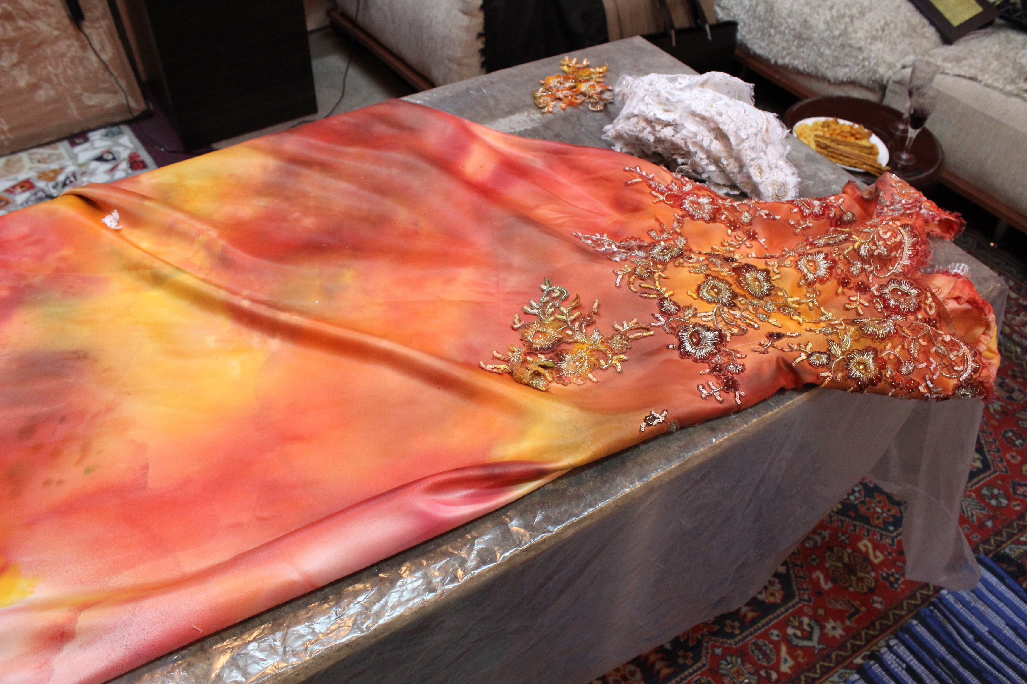 Fabric Dyeing Masterclass With Kevork Nour Shadoyan L