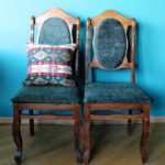 DIY Project: Reupholstering Old Chairs