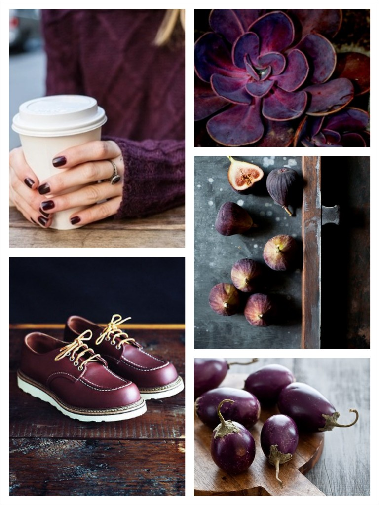 Essential Colour: Aubergine
