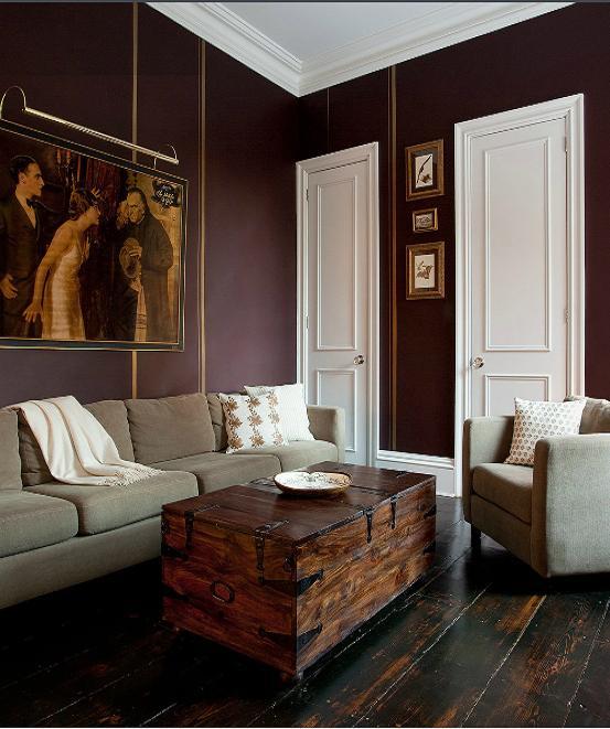 Living Room Ideas Aubergine Essential Colour: Aubergine   Lu0027 Essenziale Part 18