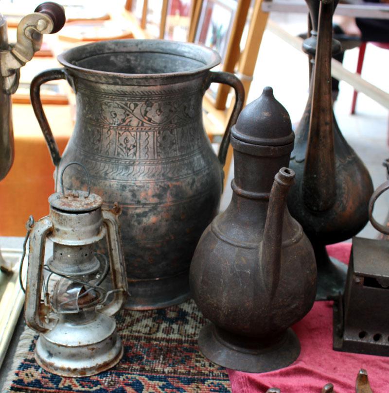 antique copier jug