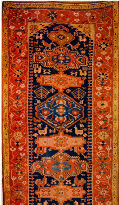 Antique Armenian carpet, mid. XIX century.