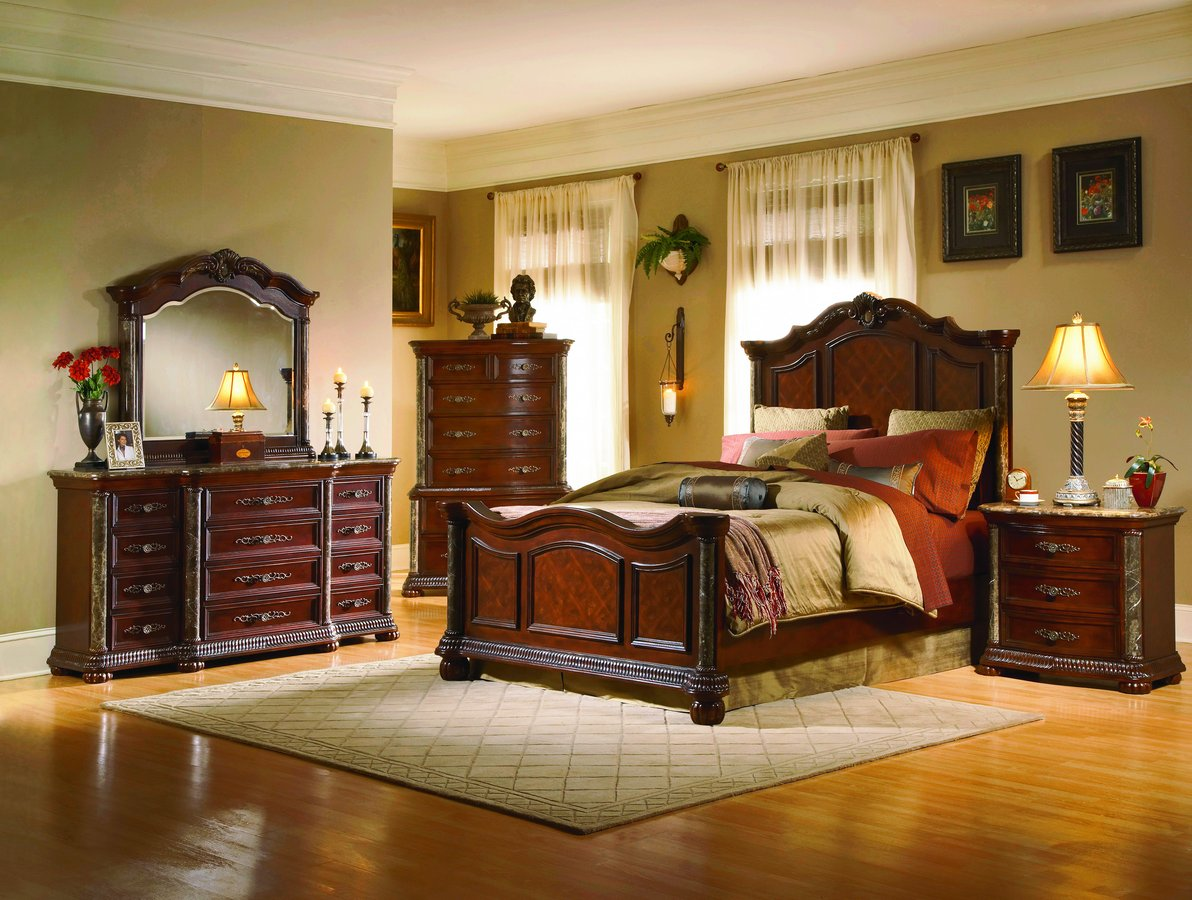 Antique furniture bedroom - Bedroom Set