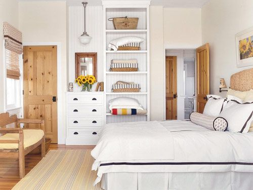 Mixing Wood And White Bedroom Furniture – Bedroom Design 2017