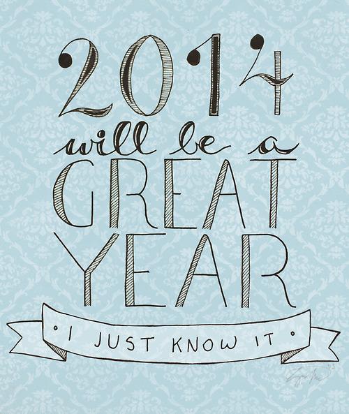 Good-bye 2013, hello 2014!