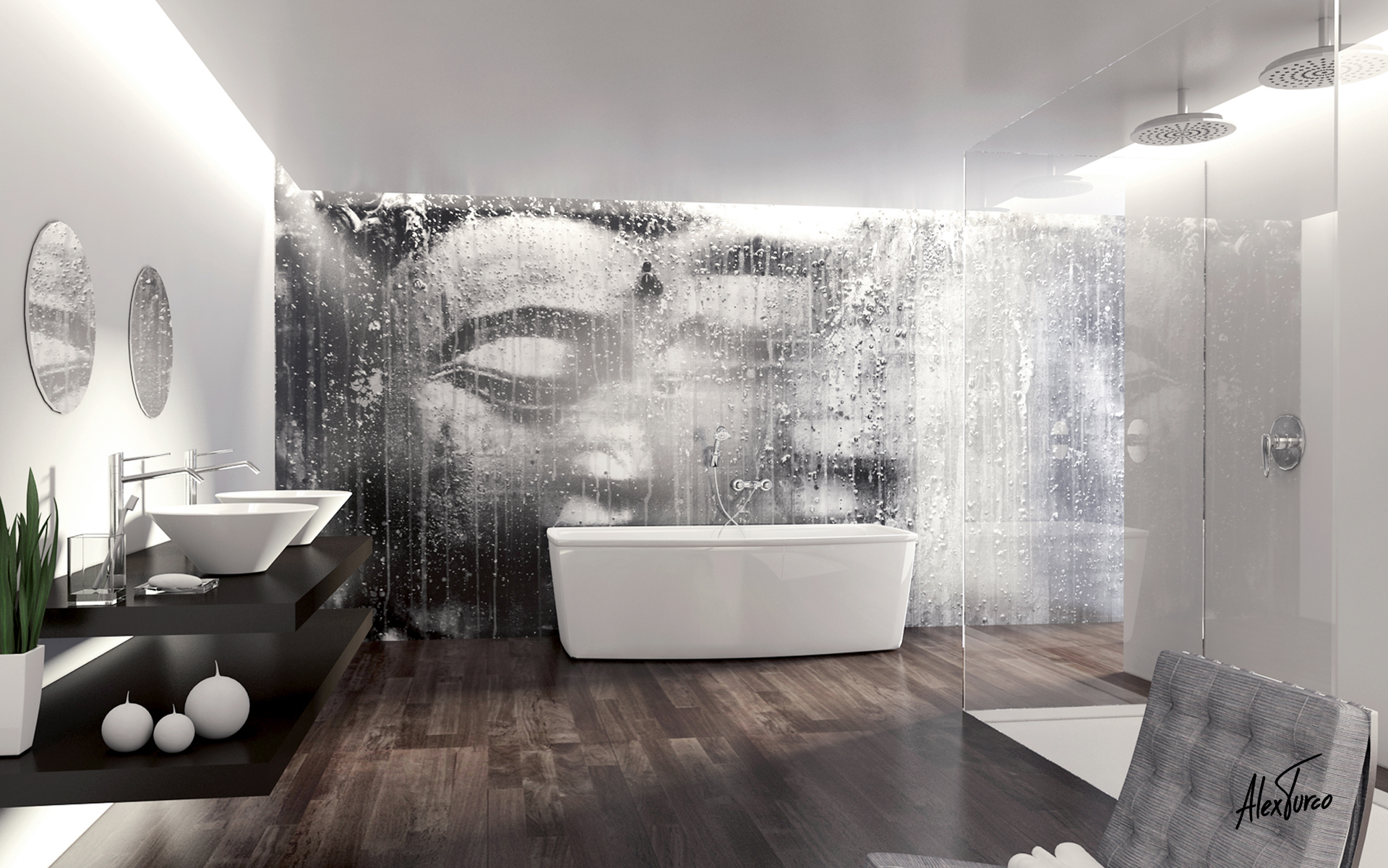 Incredible Murals Or This Is Not Just Wallpaper L