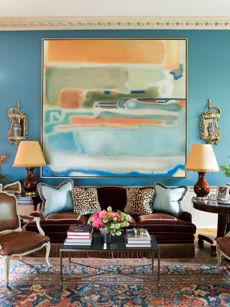 The Blue Colour Trend in Interior Design