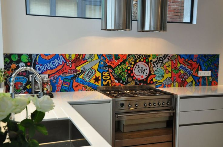 Many People Consider That Graffiti Can Be Used Mostly In Industrial Or Modern Style Rooms Combined With Exposed Brick Walls Metallic Surfaces And