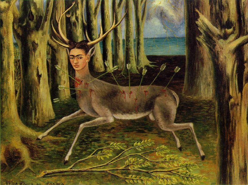 """Frida Kahlo """"Deer"""""""