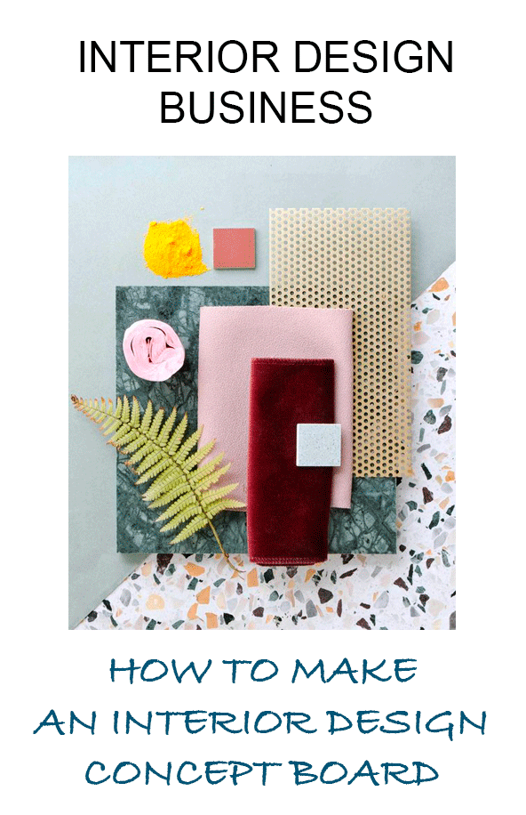 How To Create A Concept Board For Interior Design Project