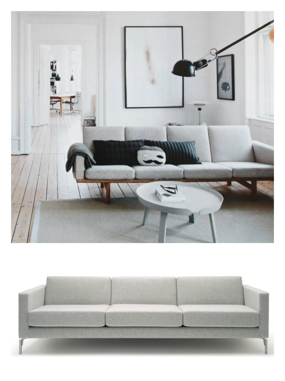 Interior: image via | Sofa by Furnie