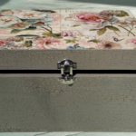 DIY Project: Shabby-Chic Decoupage Storage Box