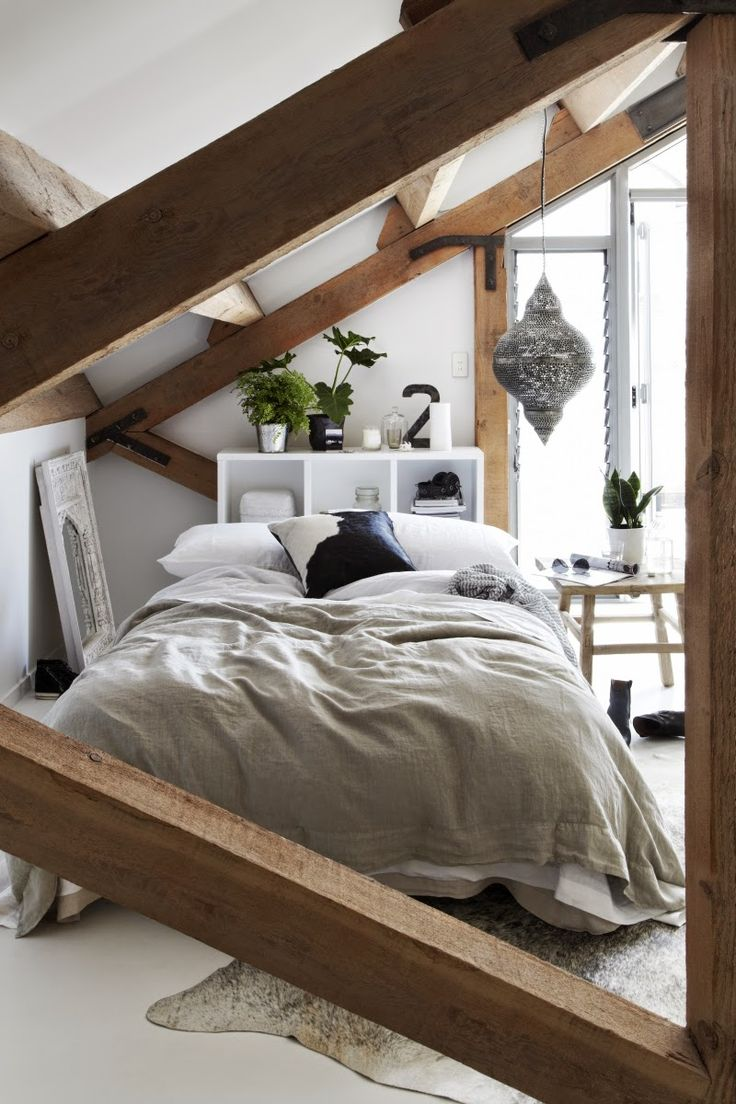 Decorating attic rooms: 6 tips and 23 beautiful examples: l ...