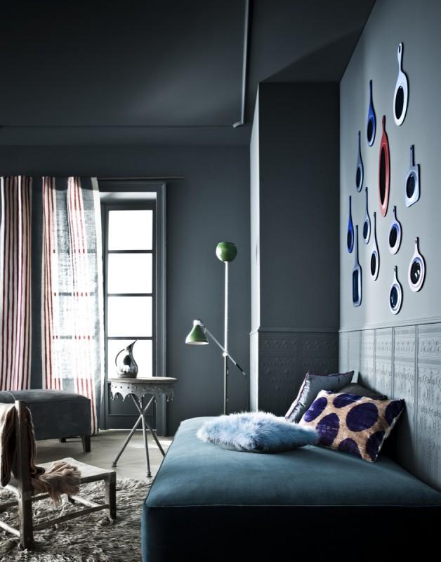 color scheme dark grey