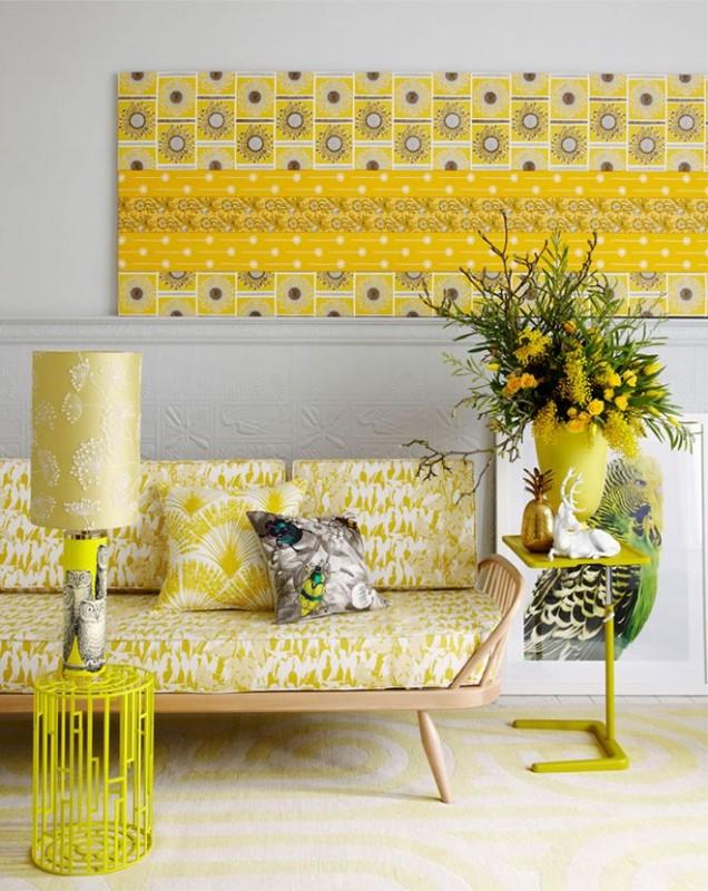yellow colour scheme