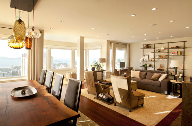 A Contemporary Penthouse Suite