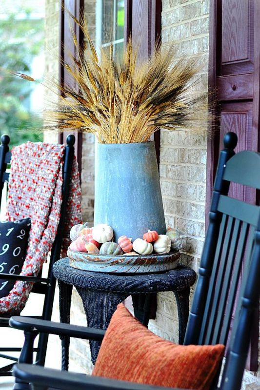 16 DIY Ideas of Wheat Decorations