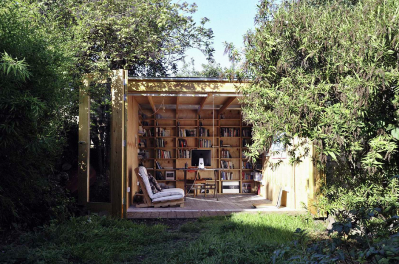 A Shed in Your Back Garden: Functionality vs. Beauty
