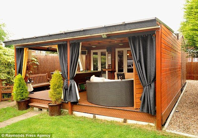 A shed in your back garden functionality vs beauty for Garden shed ideas uk