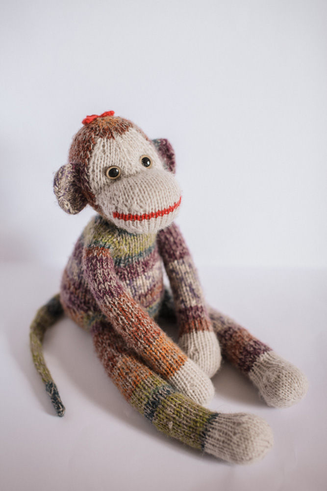 Hand Knitted Toys : Back to childhood adorable hand knitted toys