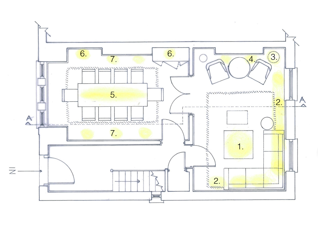 Creating A Visual Lighting Proposal For Interior Design Project