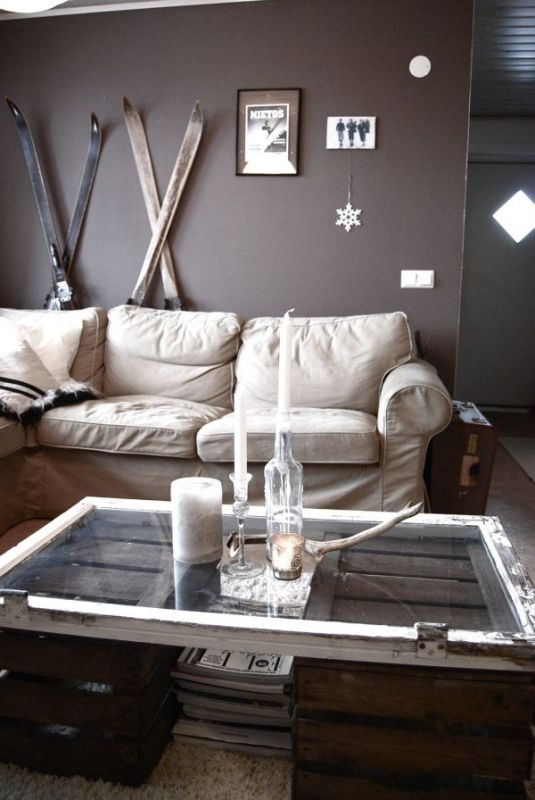 old-window-coffee-table