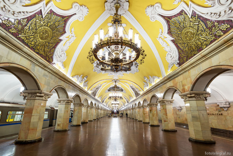 The Most Beautiful Metro Stations in Moscow