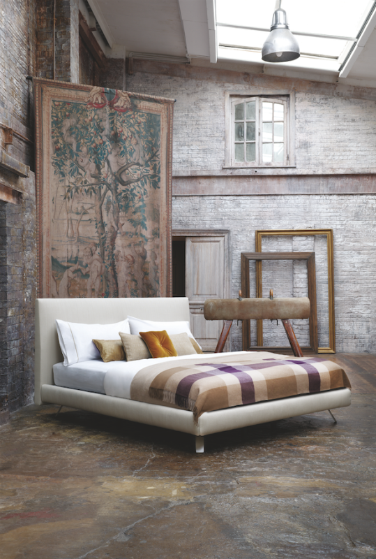 another remarkable collaboration was with new yorklondon based contemporary interior designer philipp gorrivan who created a bed that represents his