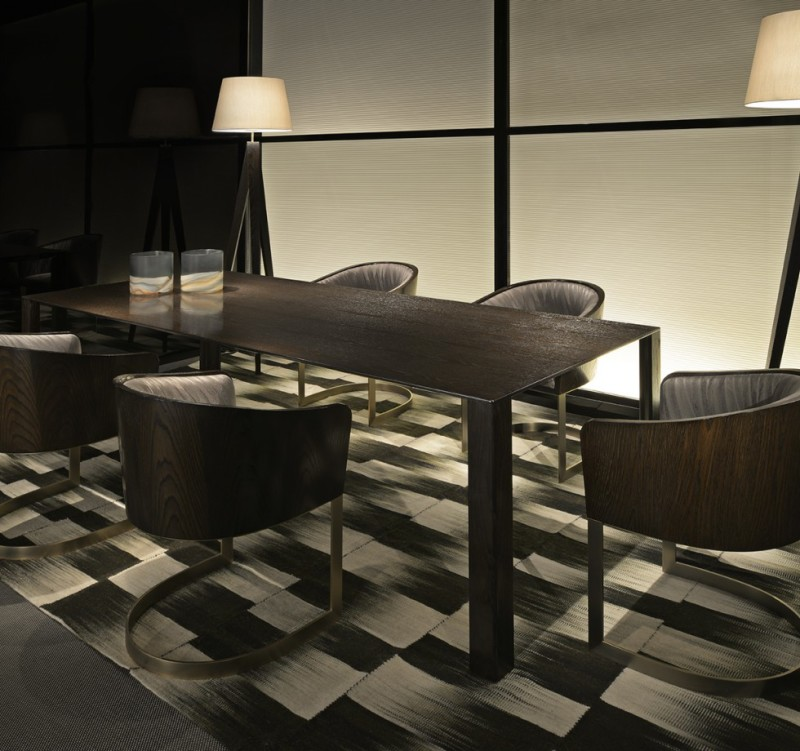 Armani Casa table10 Dining Tables from Top Luxury Furniture Brands. Dining Room Table Brands. Home Design Ideas