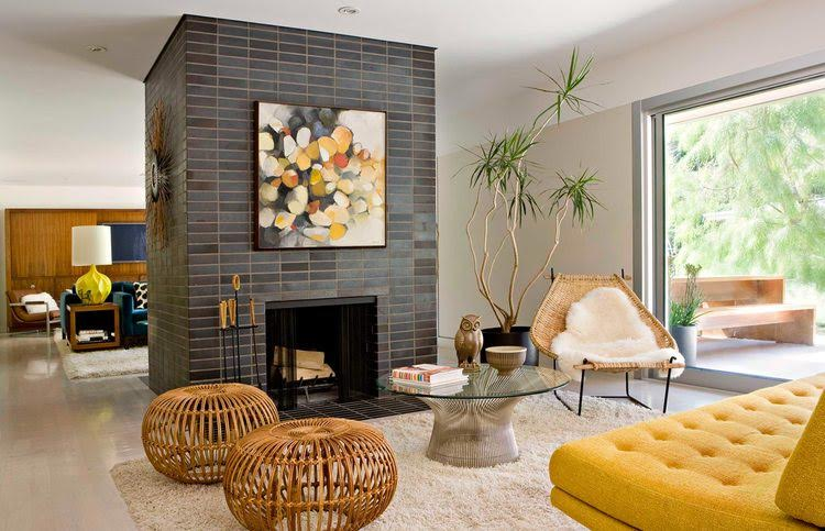 Give your Home Captivating Mid-century Modern Design Touch