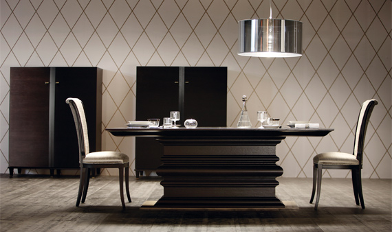 Modern Furniture Table stunning contemporary italian dining room furniture contemporary