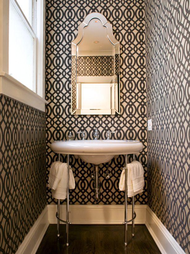 bold pattern wallpaper